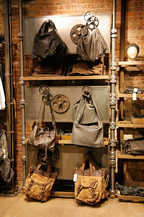 Now Open: AllSaints Soho | Industrial, Retail and Design shop