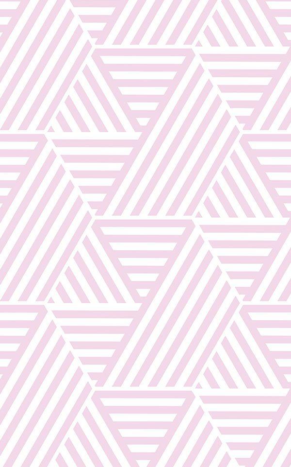 Papier Peint Geometrique Rayures En Triangles Papier Peints