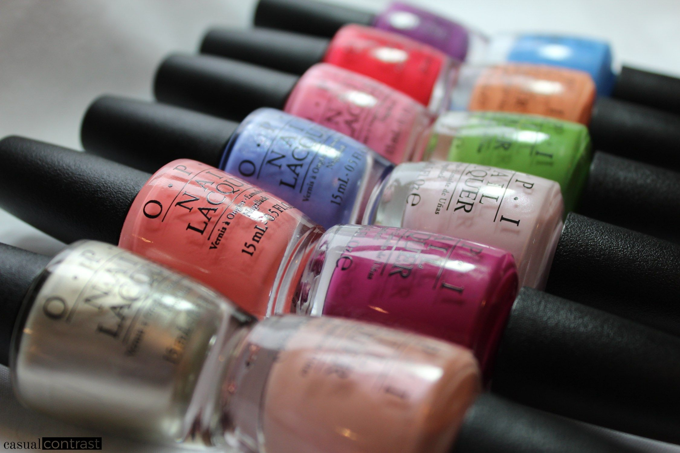 OPI New Orleans Nail Polish Swatches u Review u Casual Contrast