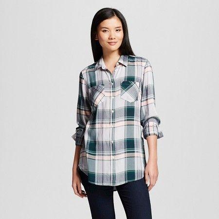Women's Plaid Favorite Tunic - Merona™ : Target