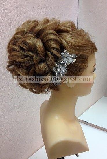 Dz Fashion خطوات عمل تسريحات عرايس بالصور Hair Styles Womens Hairstyles Cool Hairstyles
