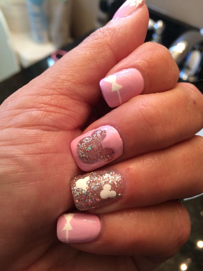minnienails #disneynails | Beauty and fashion❤ | Pinterest ...