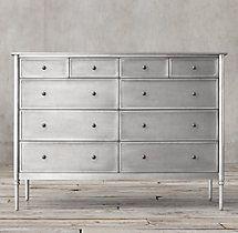 Best Spencer Metal 10 Drawer Dresser Dresser Drawers 640 x 480