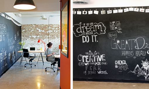 Interiors Blackboard Office Design