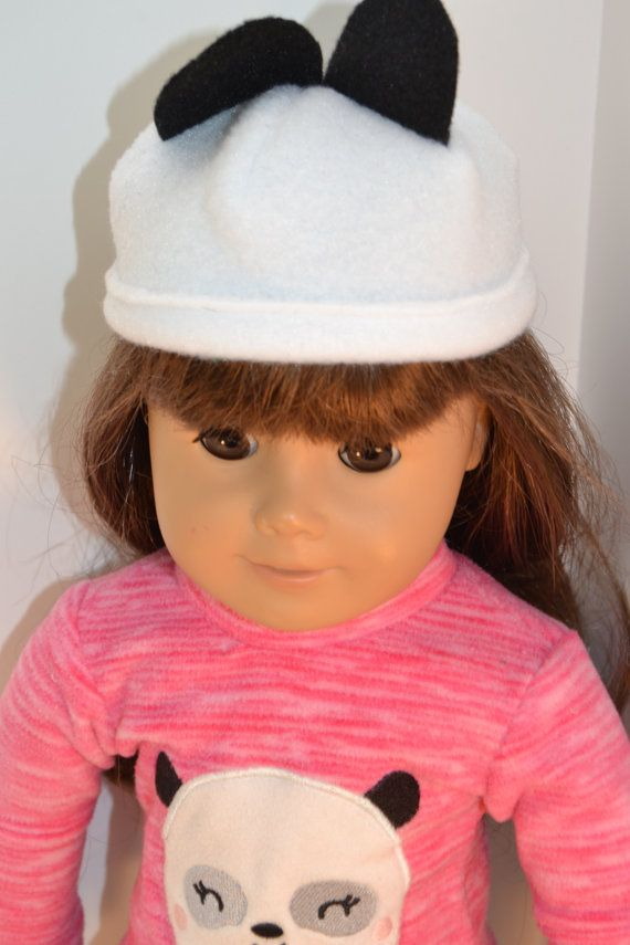 """PANDA BEAR Booties DOLL SLIPPERS fits American Girl 14.5/"""" WELLIE WISHERS DOLL"""