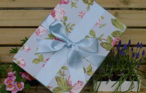 The Empty Box Company | The Medium Wedding Dress Box in Vintage Rose ...
