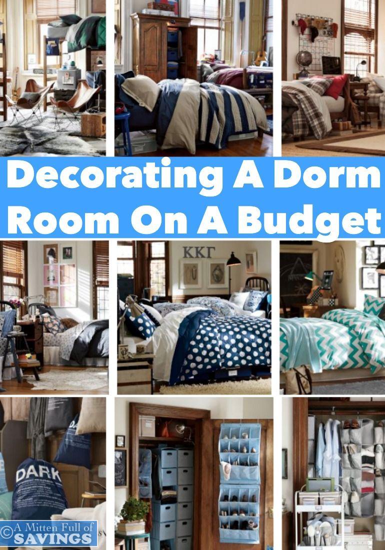 die besten 25 decorating a dorm ideen auf pinterest diy wohnheim dekor bastel und. Black Bedroom Furniture Sets. Home Design Ideas