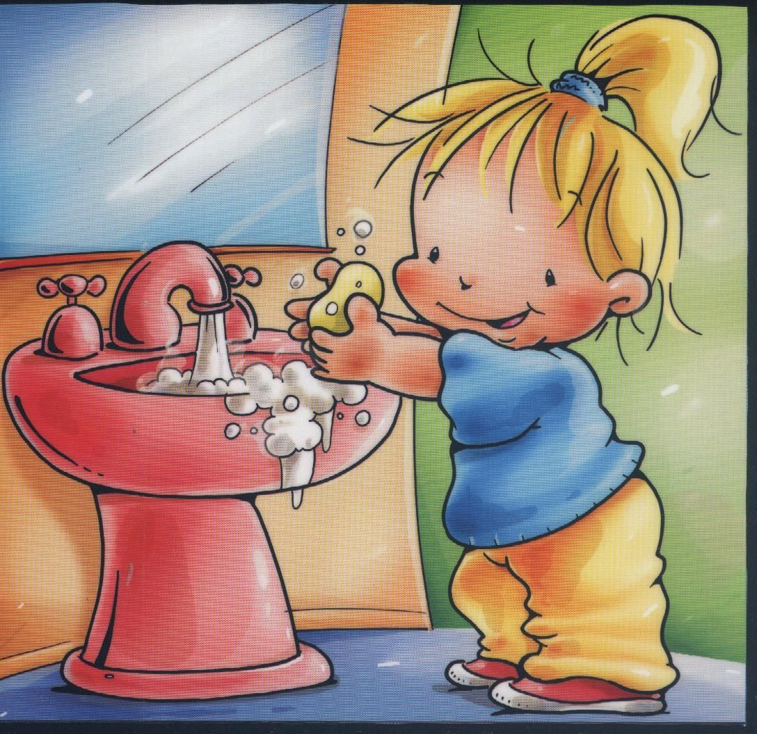 Carteles Para El Bano Rutina Diaria De Ninos Higiene Personal