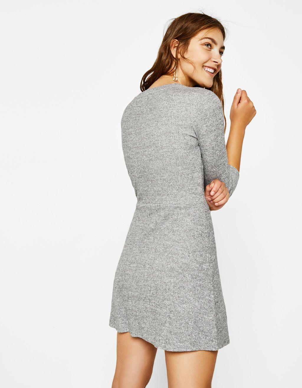 Vestido corto linea a bershka