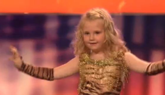 Germany's Got Talent    6 Year Old Belly Dancing & Misplaced