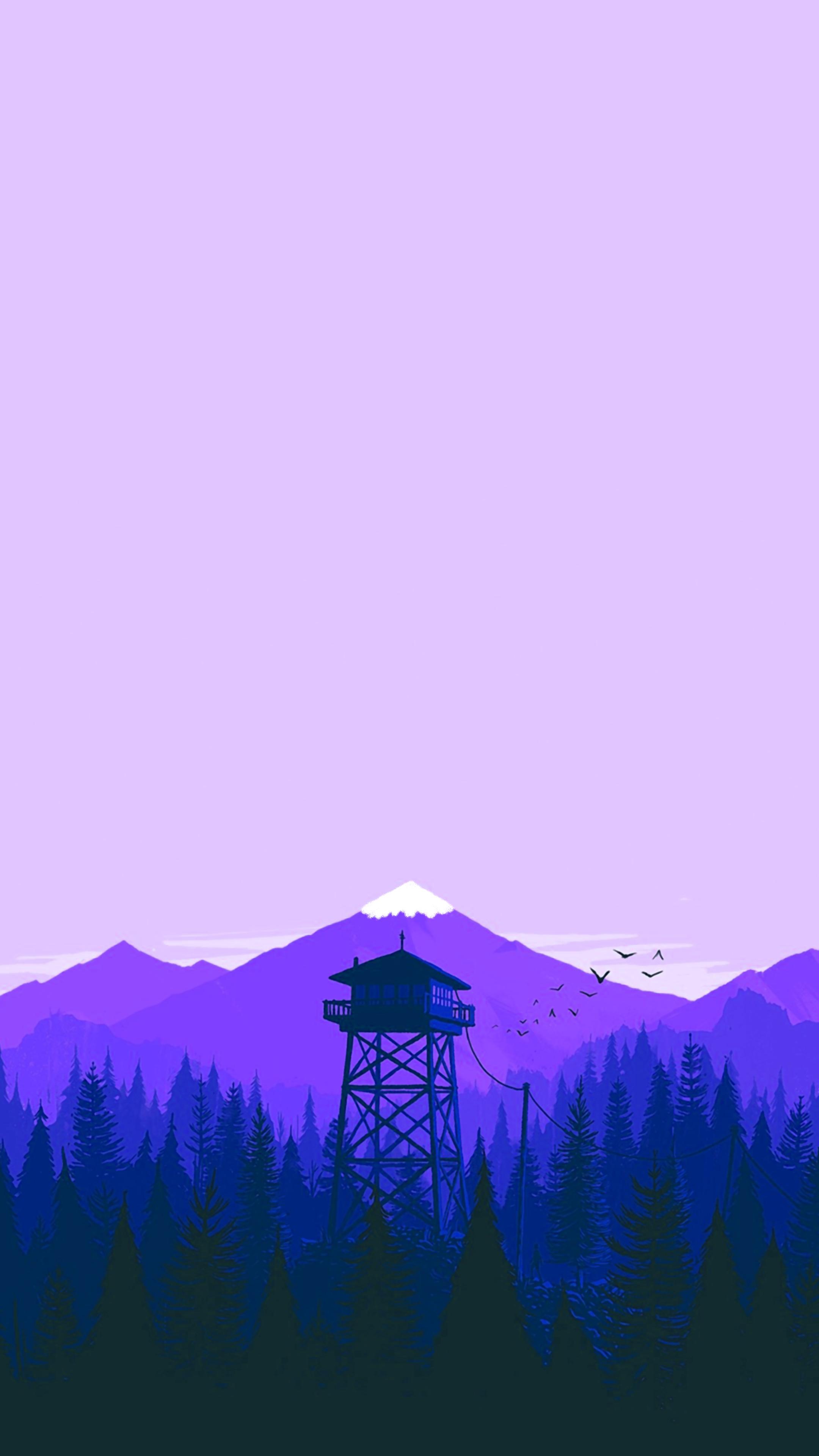 Firewatch Winter Wallpaper in 2020 Winter wallpaper