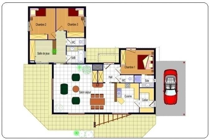 Plan Interieur Maison Moderne Idee Deco Pinterest - des plans des maisons modernes