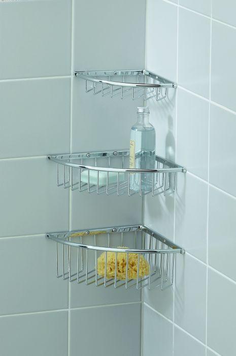 Small Corner Wire Soap Basket | Hardware Inspiration | Pinterest ...
