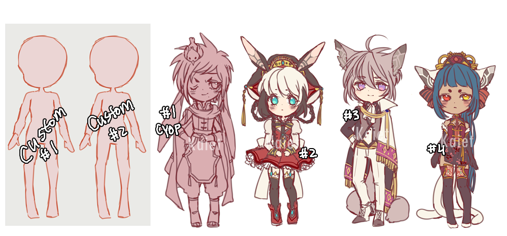 Doodle fantasy adoptable auction (CLOSED) by Kaiet.deviantart.com on @DeviantArt