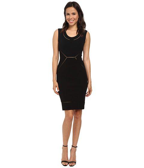 Nicole Miller Lalinda Structured Jersey Dress