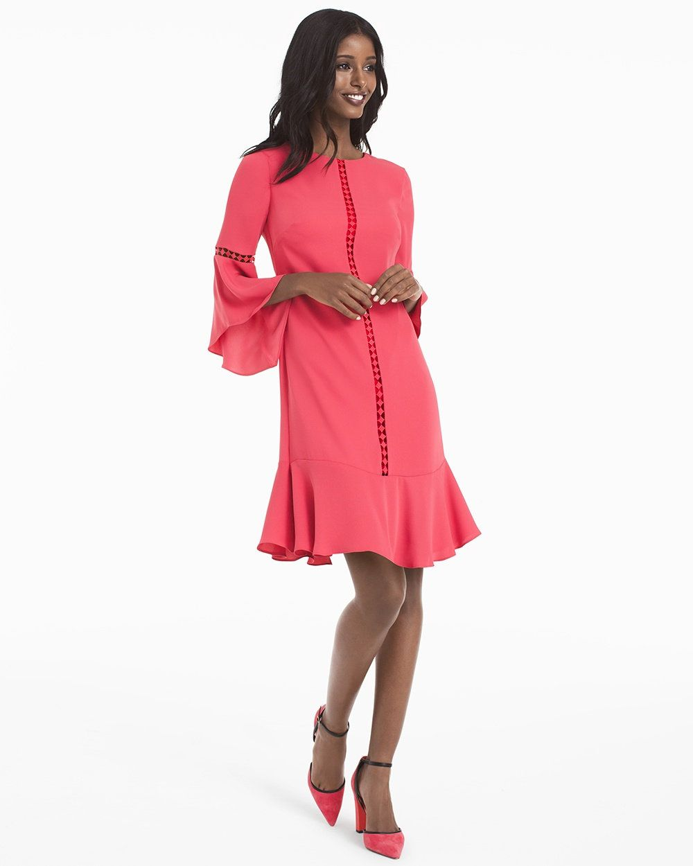Bellsleeve shift dress clothes i want pinterest clothes and