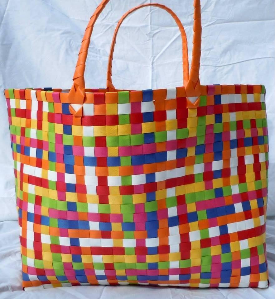 Fabulous Plastic Woven Beach Bag 25 00 Each From Www Facebook Beachbagandbeyond