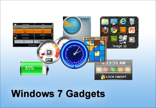 5 Must Use Gadgets For Windows 7 Gadgets Windows Cool Gadgets