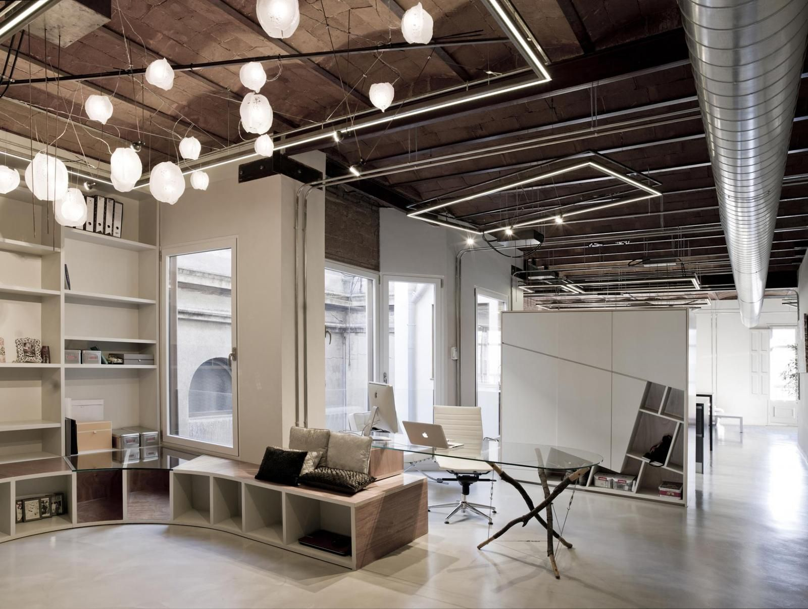 76 best open ceiling office and store design images on pinterest