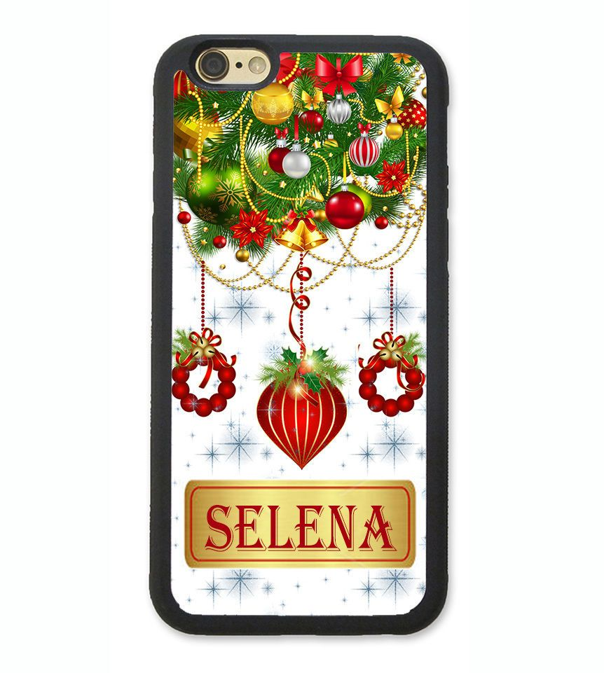 Details about CHRISTMAS ORNAMENT PERSONALIZE MONOGRAM PHONE Case FOR ...
