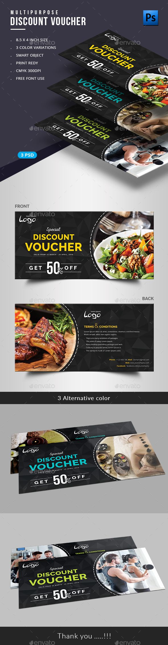 Gift Voucher  Loyalty Cards Card Templates And Template