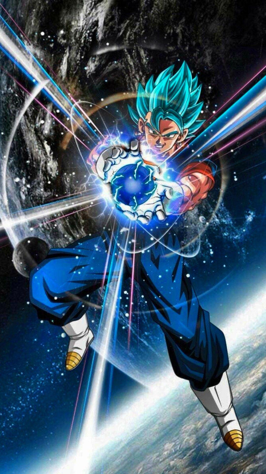 Vegito Ssj Blue Anime Dragon Ball Super Dragon Ball Super
