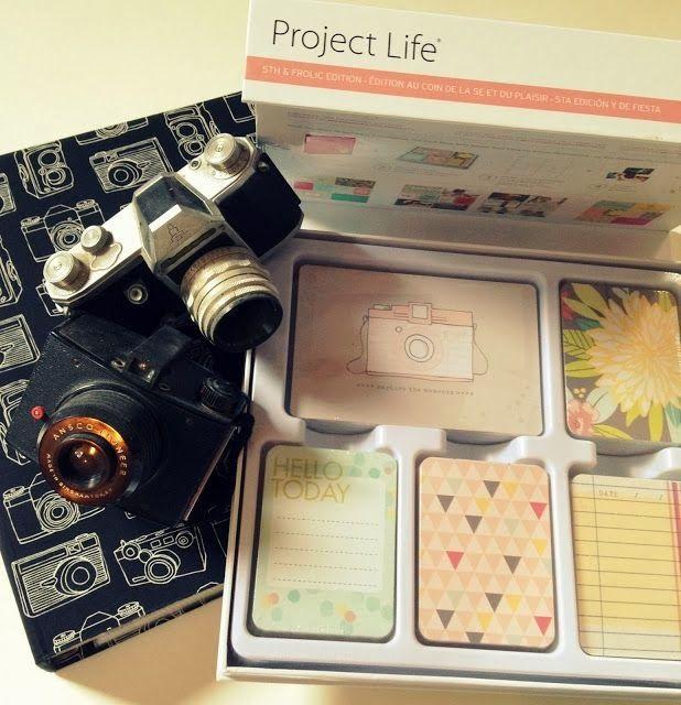 Botoezinhos: Organização: minhas fotos com Project Life