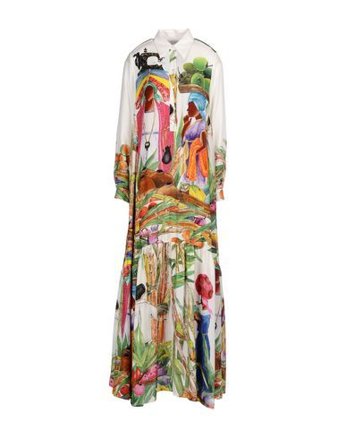 STELLA JEAN Women's Long dress White 4 US
