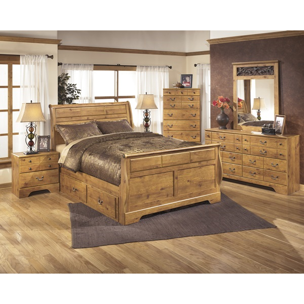 Light Brown Bedroom Group | Brianu0027s Furniture