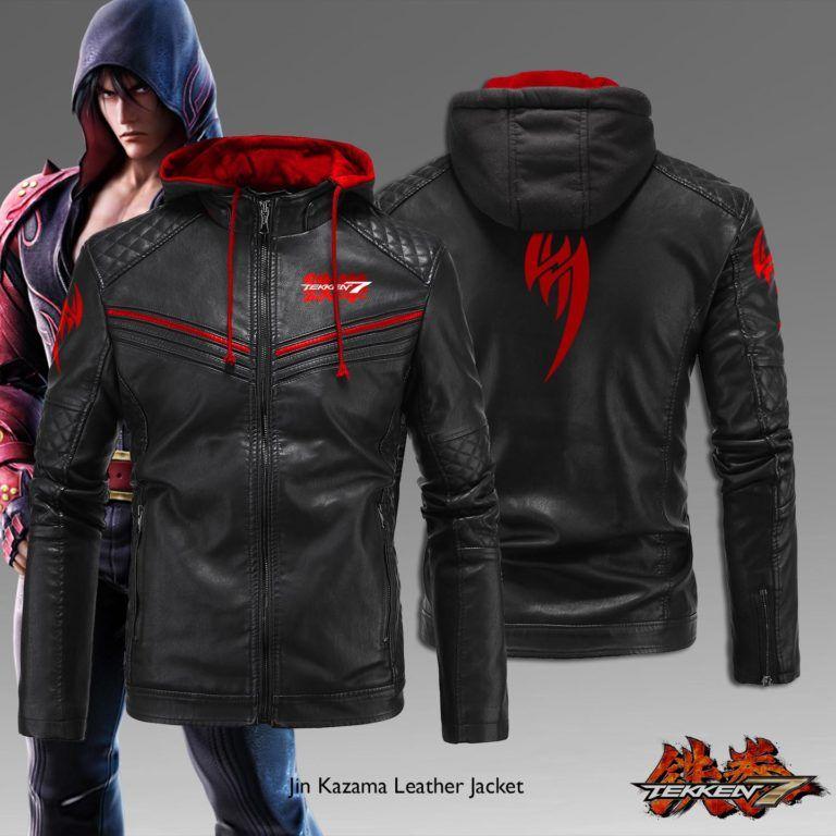 Jin Kazama Leather Jacket Dimzystore