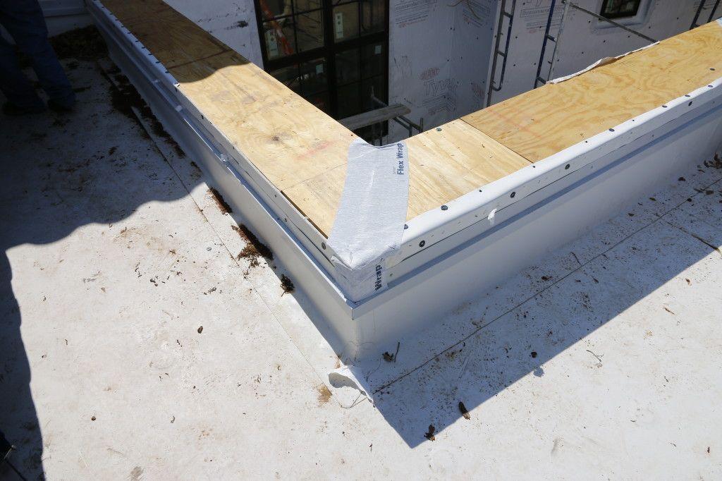 Parapet Coping Roof Detail Parapet Flat Roof Roof Detail