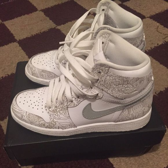 air jordan high 1 laser wash