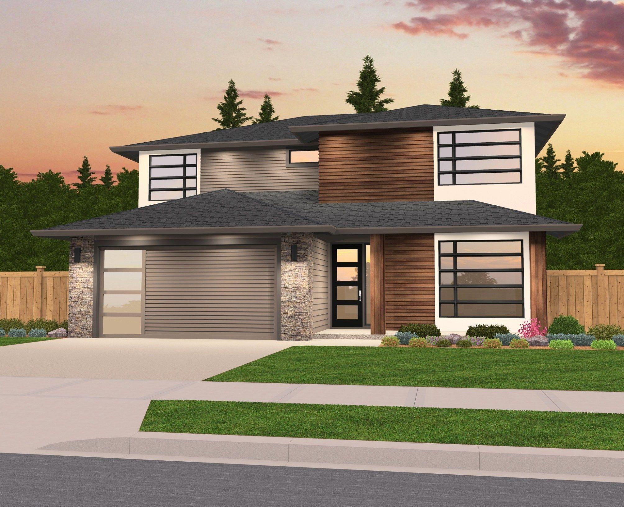 All bright house plan modern house plans by mark stewart