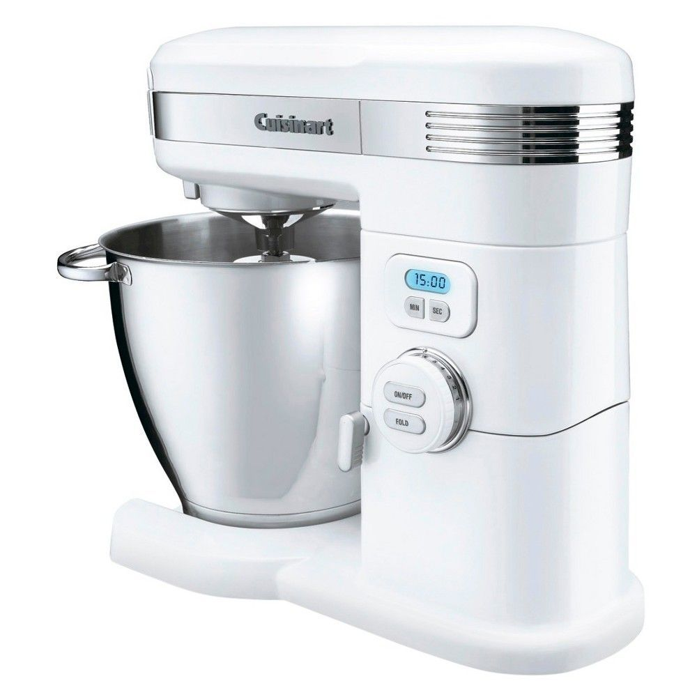 Cuisinart 7 Qt. Stand Mixer-White Sm-70, White Learn how you can ...