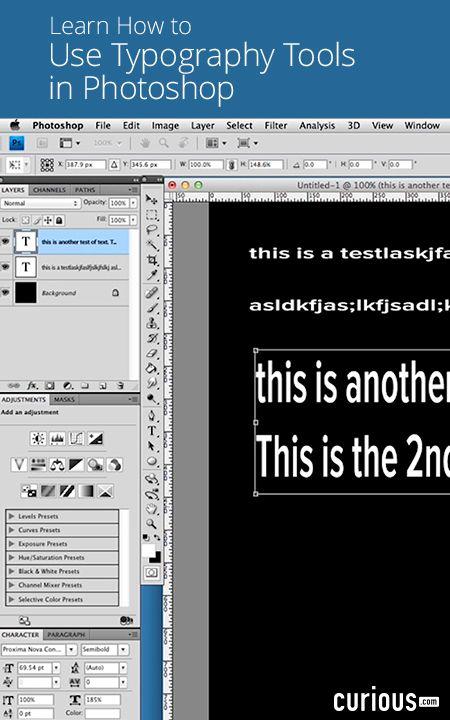 Bitesize Business School - Typography Professional Skills - sample of excel spreadsheet