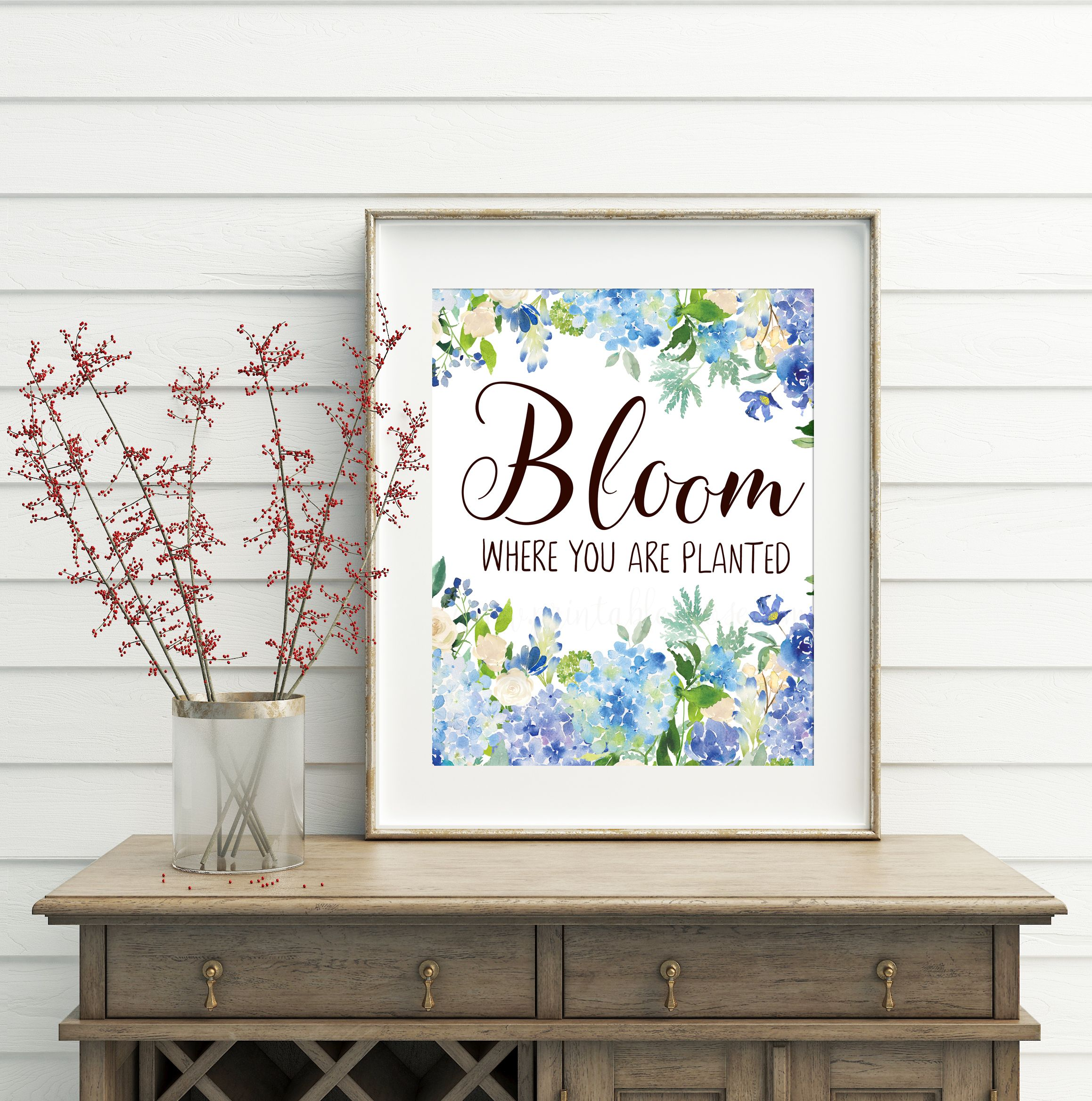 Bloom Where You Are Planted Printable Quotes Flower Wall Art Motivational Prints Inspirational Flower Wall Art Office Wall Decor Printable Wall Art Quotes