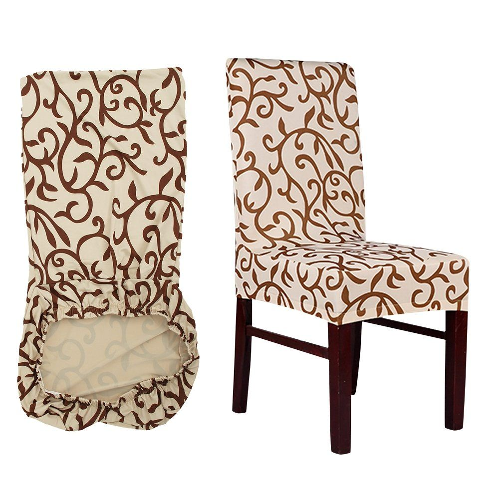 Allright 6 Pcs Stretch Chair Cover Protective Cover With Elastic Band Stool Chair Seat Cover Slipcovers Remov Stretch Chair Covers Seat Covers For Chairs Chair