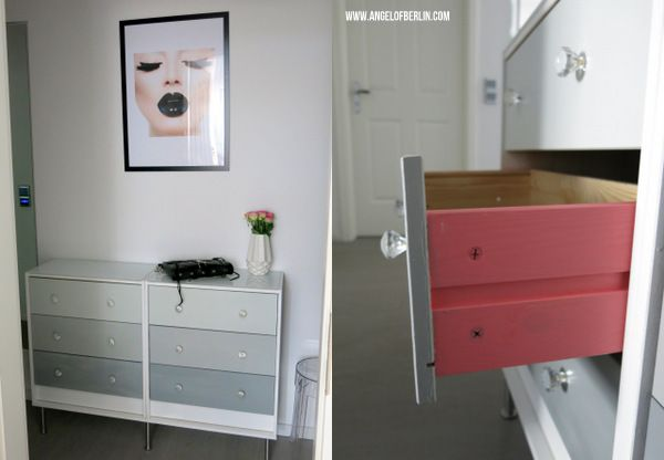 Ikea Rast Kommode of berlin diy ombré dresser rast ikea hack apartment