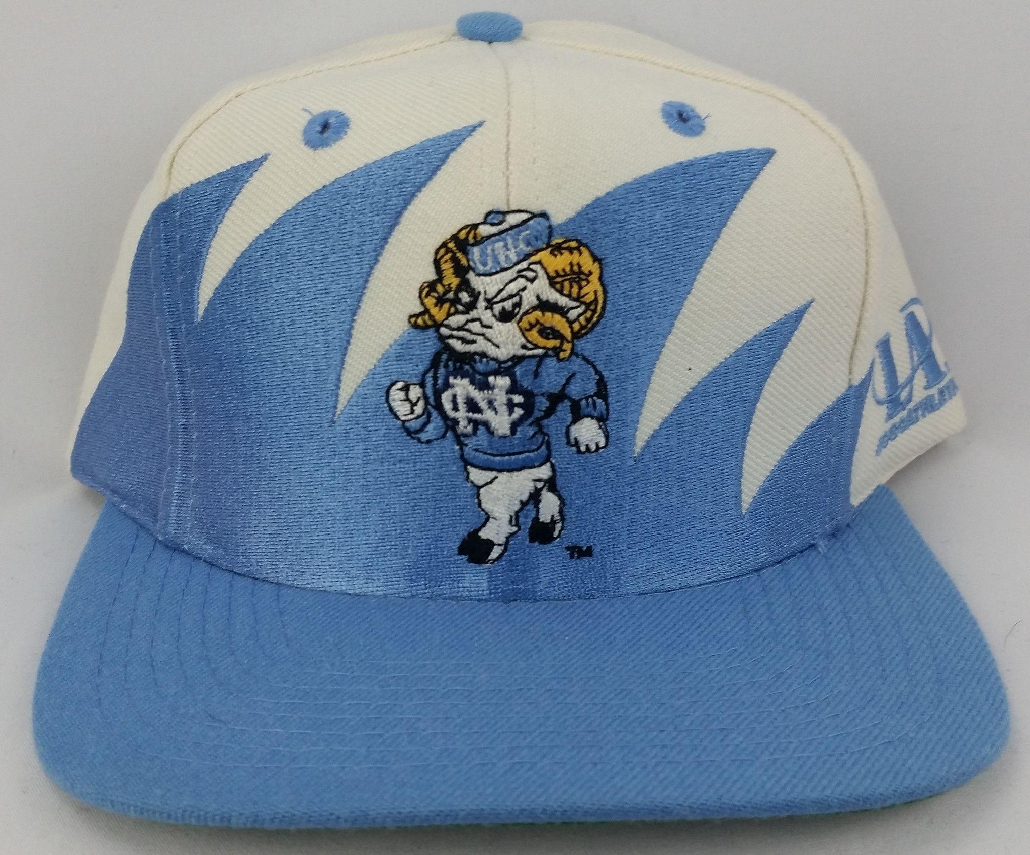 North Carolina Tar Heels Vintage Snapback Logo Athletic Sharktooth Hat NCAA  Rare 94e9e1dd73b