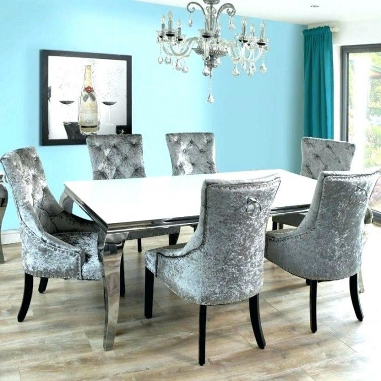 25 Elegant And Exquisite Gray Dining Room Ideas: Rooms To Go Round Glass Dining Table