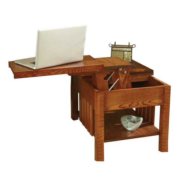 Side Pop Up Table Woodworking Plan