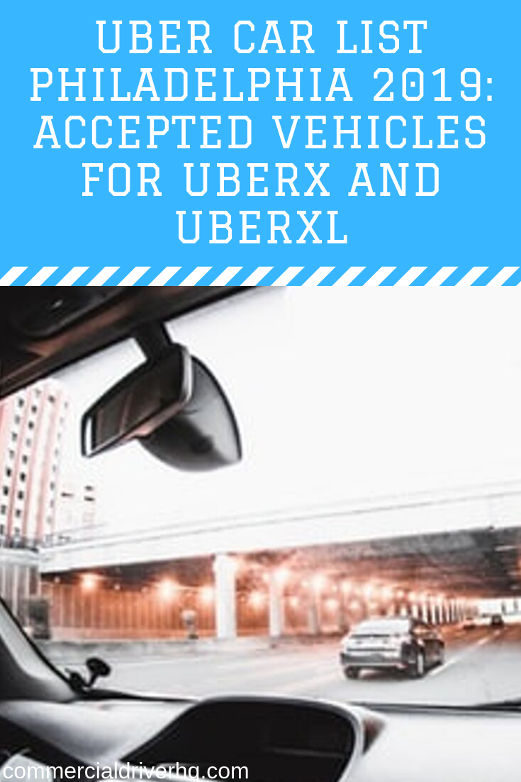Uber Car List Philadelphia 2019 Accepted Vehicles For Uberx And Uberxl Uber Car