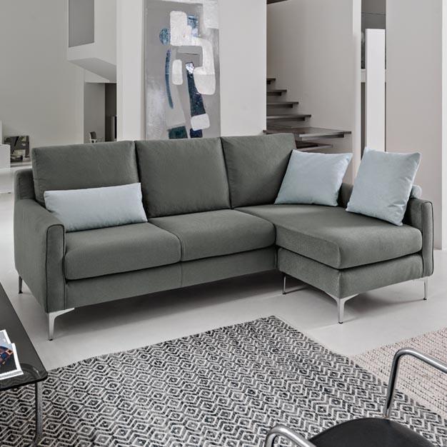 Poltrone e sofà SEFFIO (tessuto, sfoderabile, diverse composizioni; colore Nero Ciclorum unito