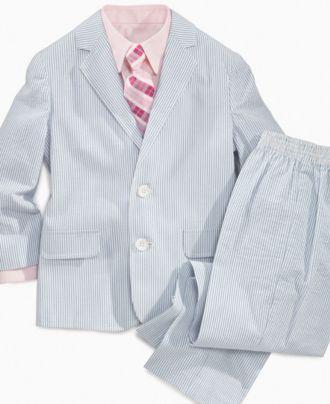 959402058 Izod Kids Set, Little Boys Seersucker Suit - Kids - Macy's   8.4.12 ...