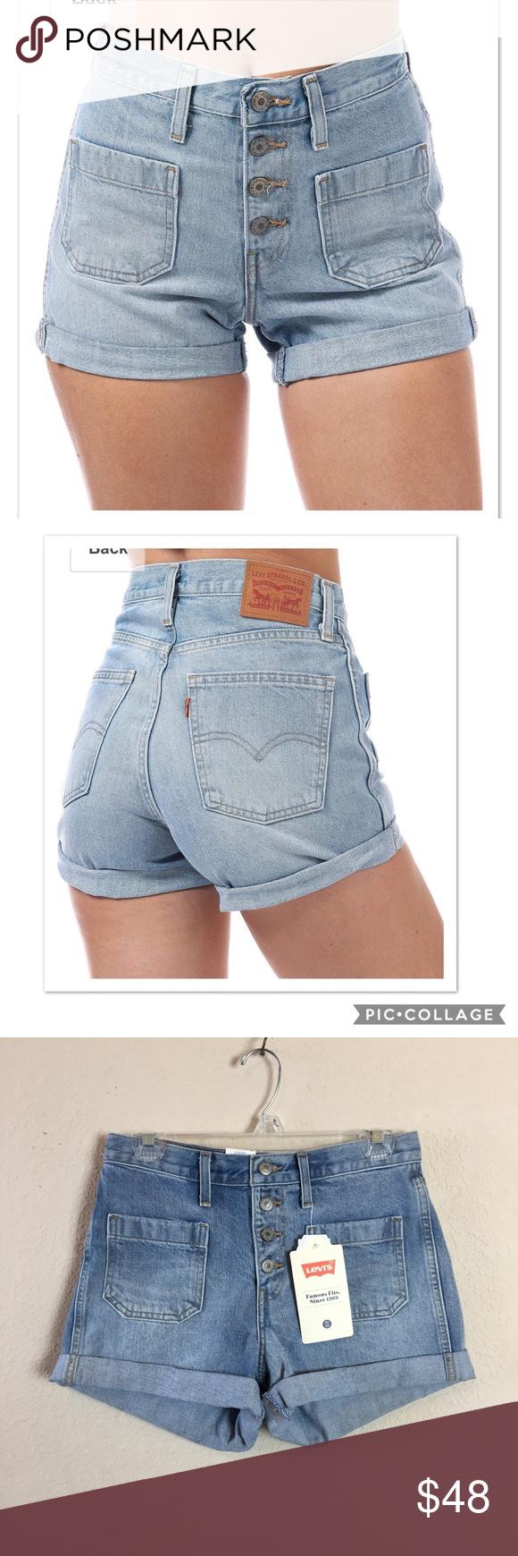 f435aa6f Levi's Orange Tab 5 Button Shorts in Kerouac NWT! Levi's Orange Tab Shorts  in Kerouac