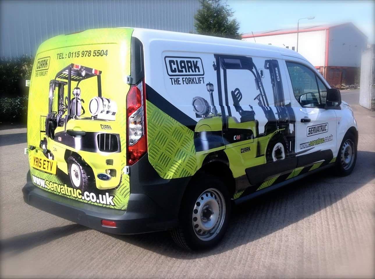 Van Advertisimg Forklift Services