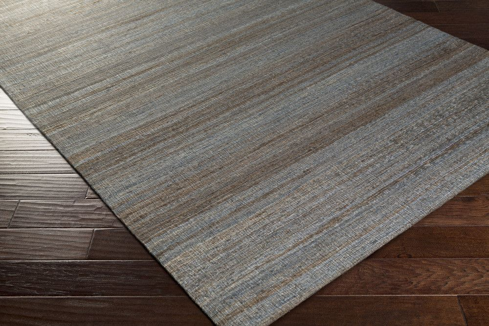 Prairie Area Rug | Gray Natural Fiber and Texture Rugs Hand Woven | Style PRR3011