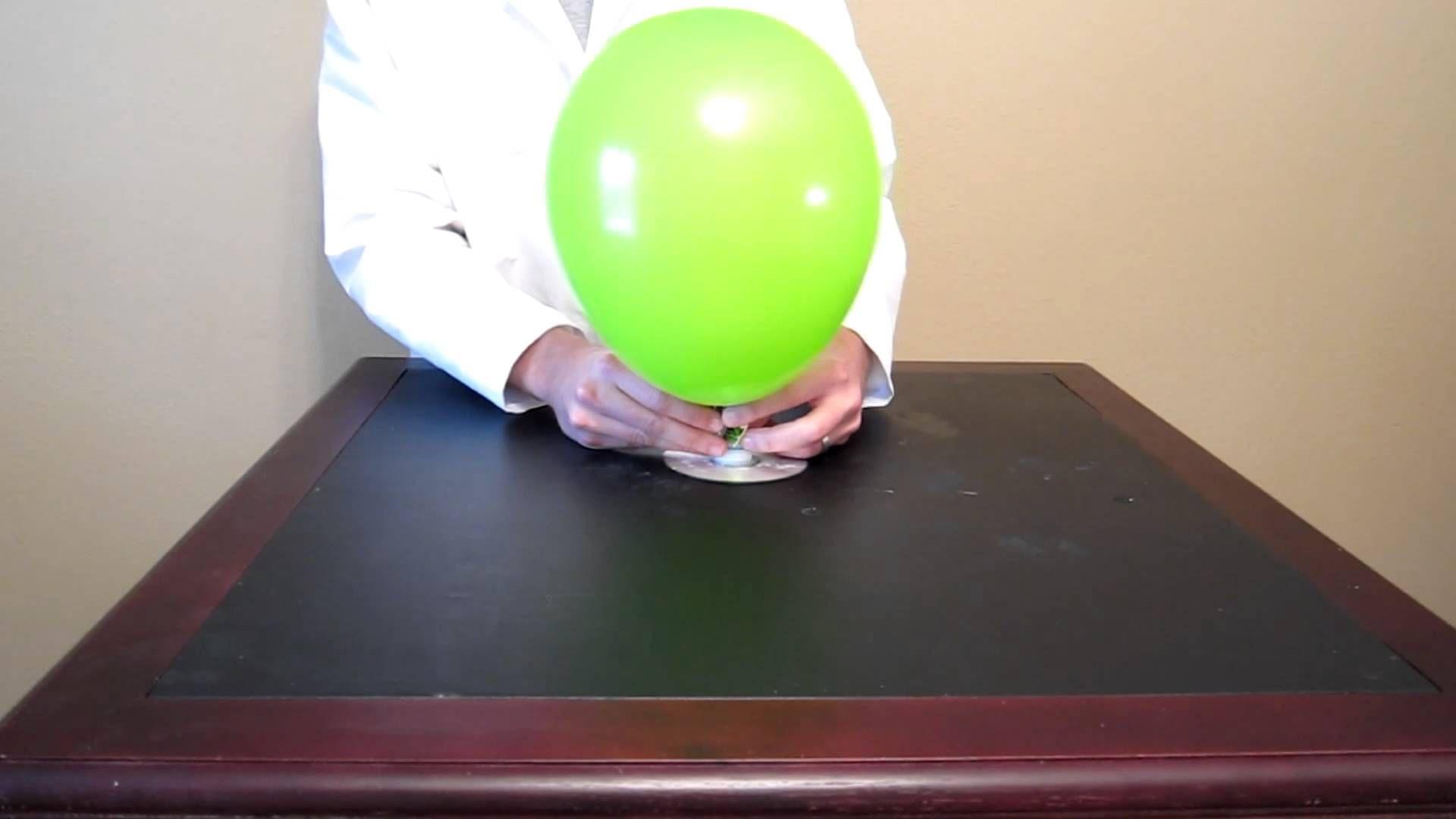 Build A Balloon Hovercraft