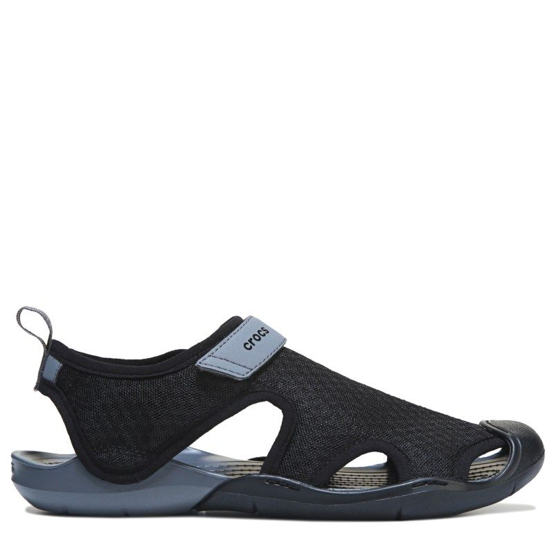 d92998dc0fad60 Crocs Women s Swiftwater Mesh Sandals (Black)