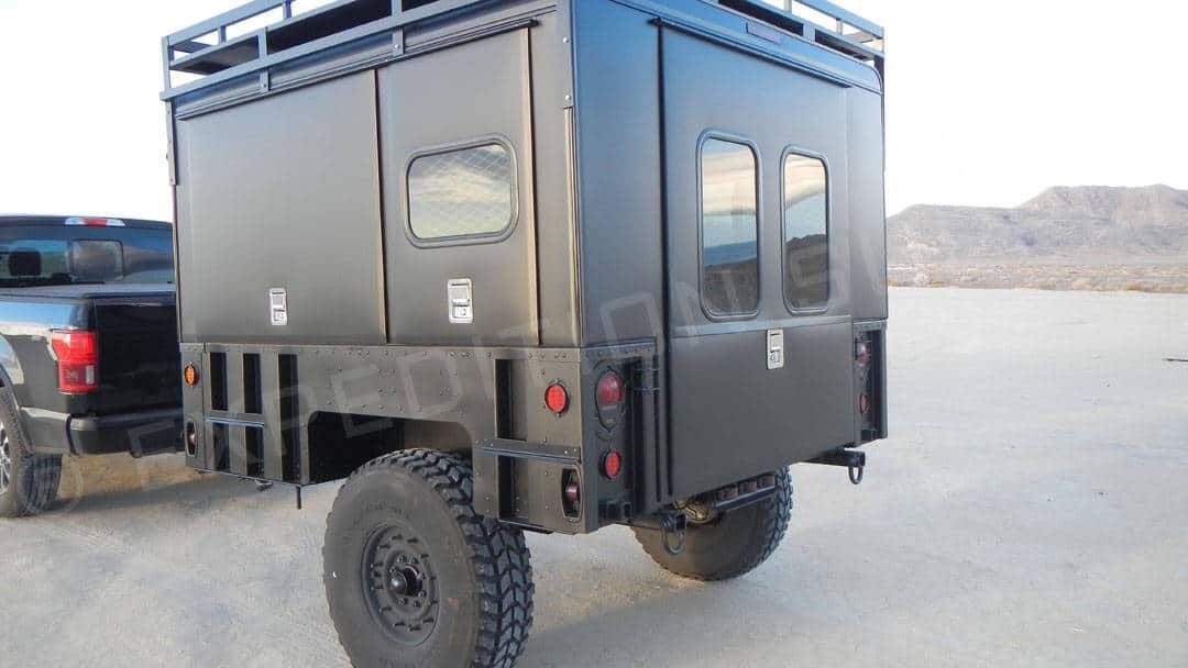 Blackout Expedition Enclosed Adventure Camper Trailer